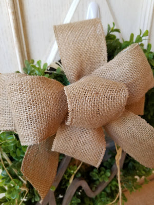 Hi Boxwood Wreath Everyday Wreath - Farmhouse Florals
