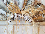 Windmill Cotton Boll Farmhouse Style Wall Decor Farmhouse Style - Farmhouse Florals