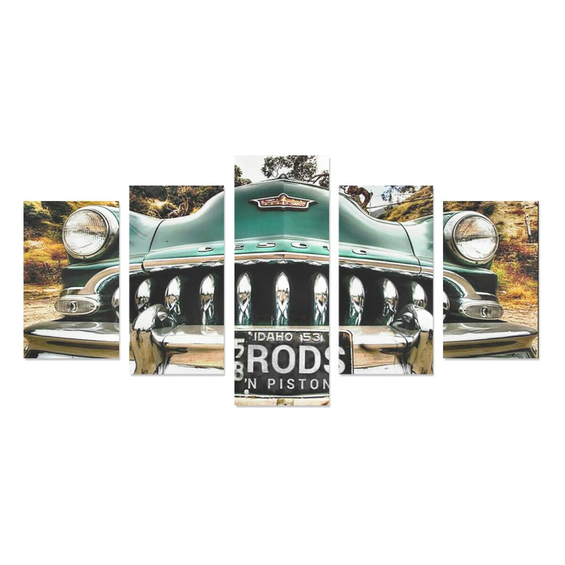 Desoto front end Canvas Print Sets (No Frame)