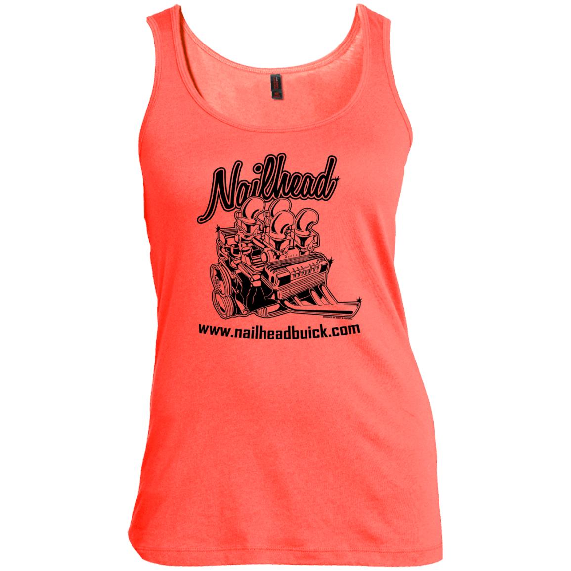 Nailhead Women's Scoop Neck Tank Top