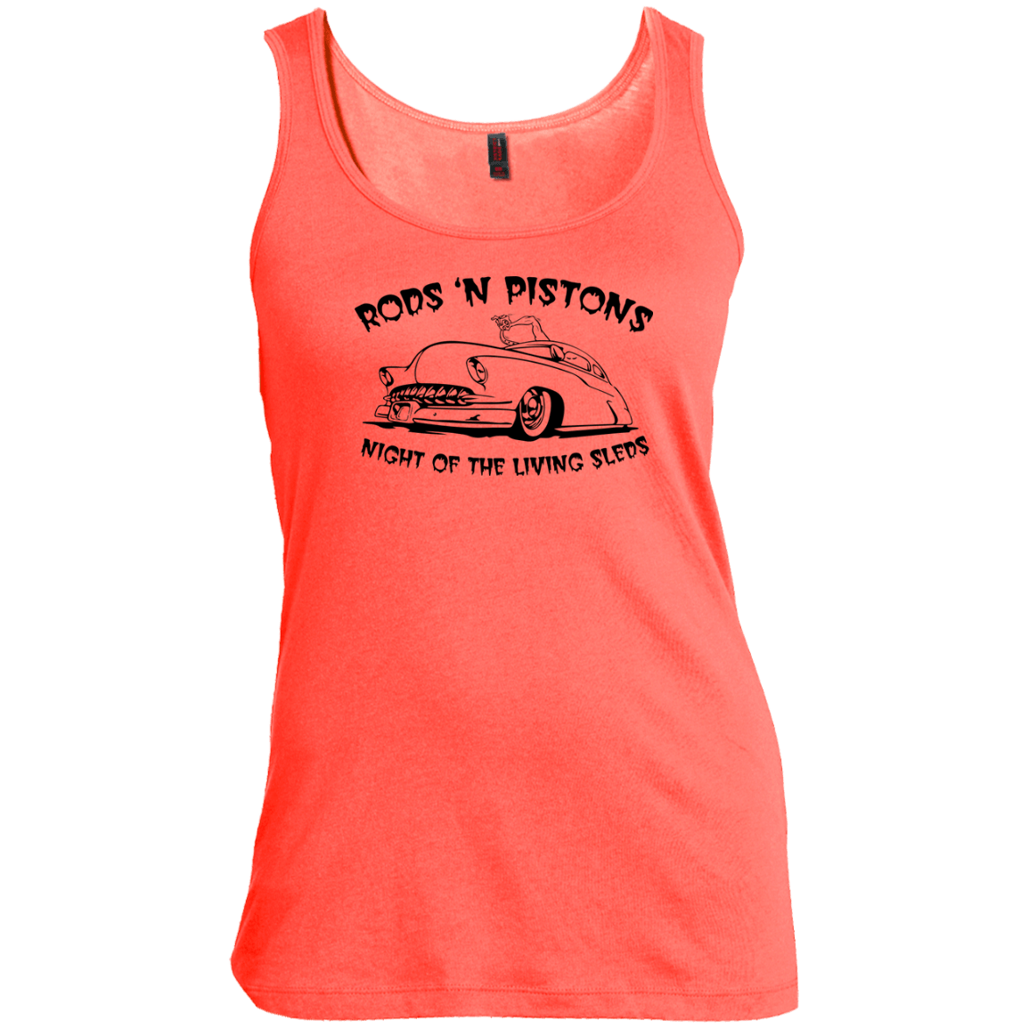 Night of the living Sled Women's Scoop Neck Tank Top