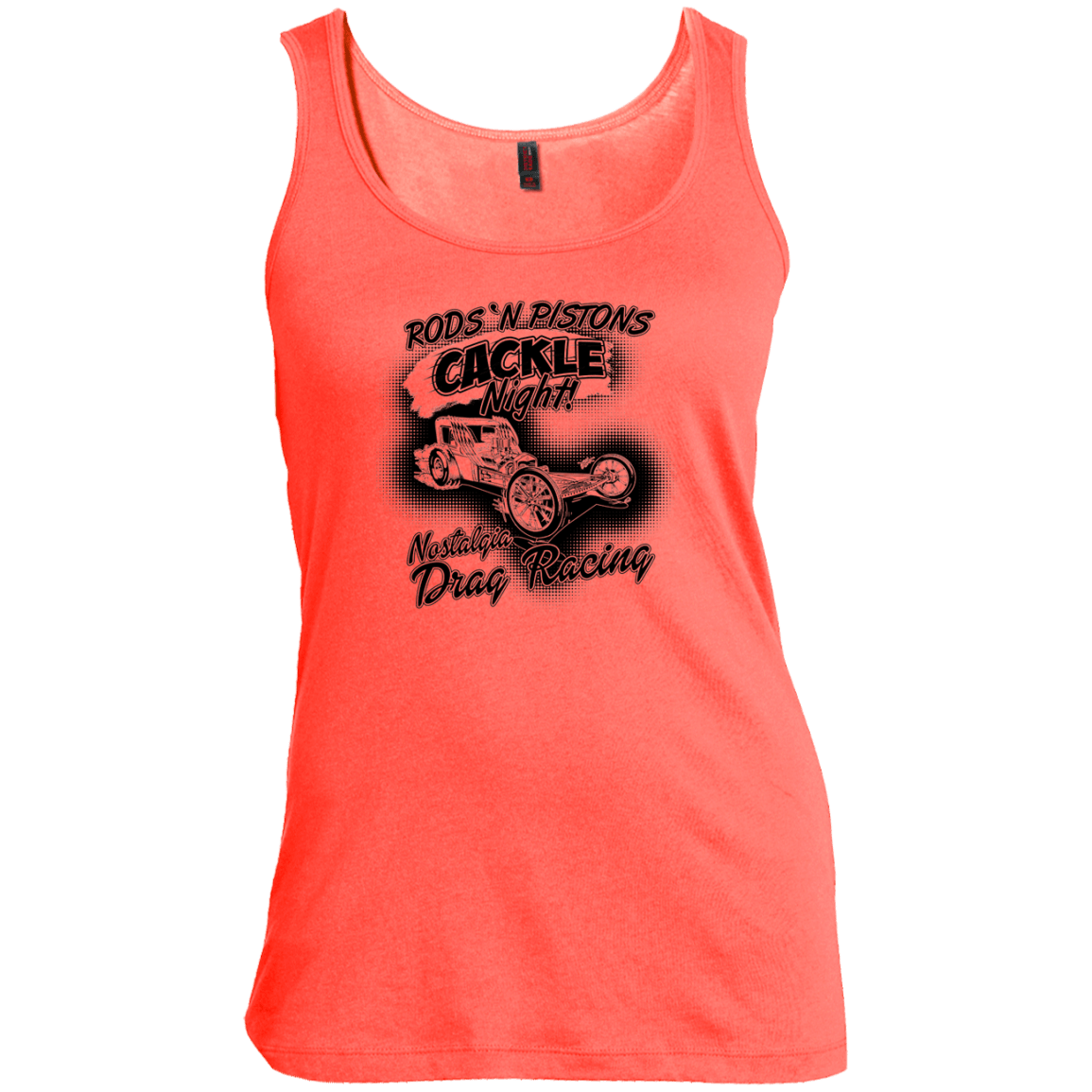 cackle night Women's Scoop Neck Tank Top