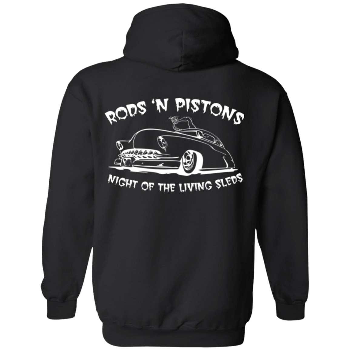 Night of the Living Sleds Pullover Hoodie