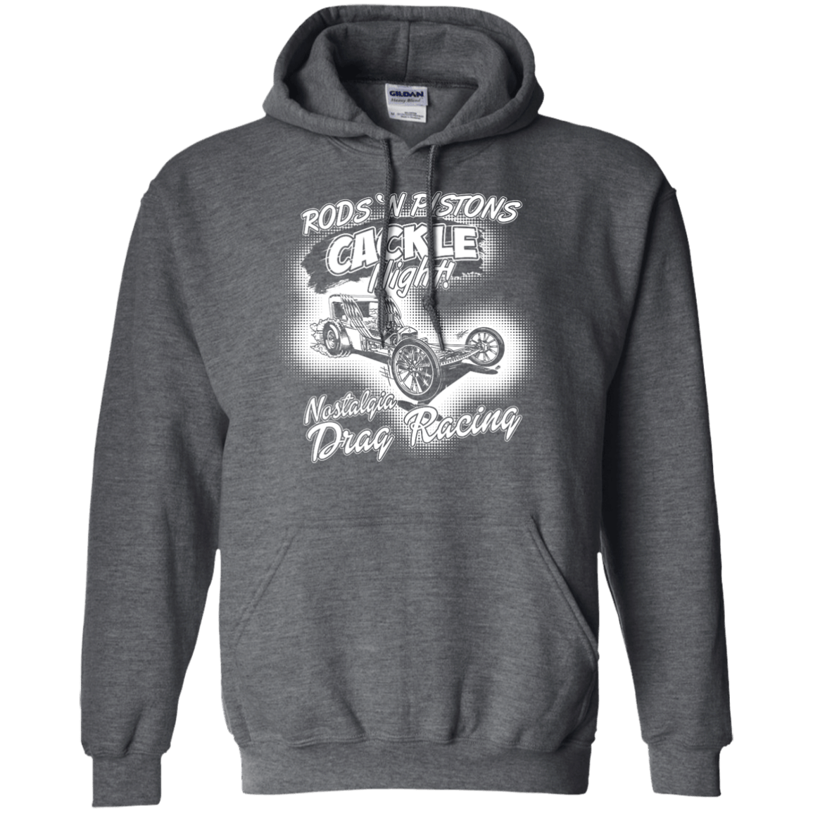 Rods 'N Pistons Cackle Night, Pullover Hoodie