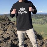 Long Sleeve Signature Tee - Royalty Raiments Royalty Raiments