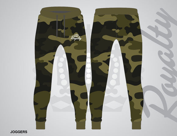 Camo joggers - Royalty Raiments Royalty Raiments
