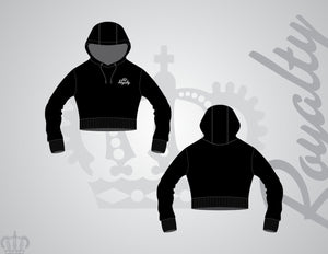 Ladies crop hoodies - Royalty Raiments Royalty Raiments