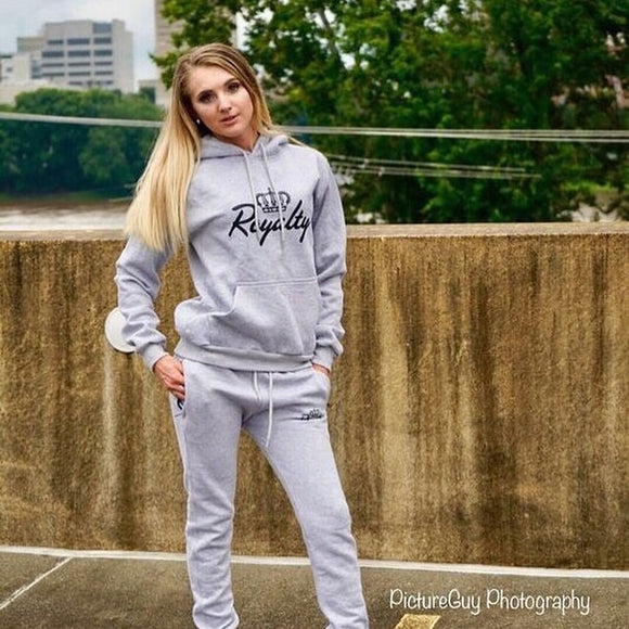 Ladies hoodie and joggers set