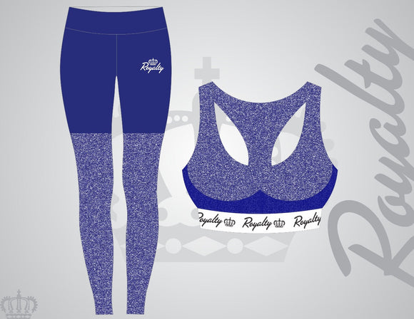 Blue leggings set - Royalty Raiments Royalty Raiments