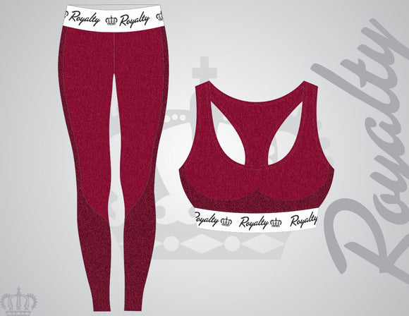 Red workout set - Royalty Raiments Royalty Raiments
