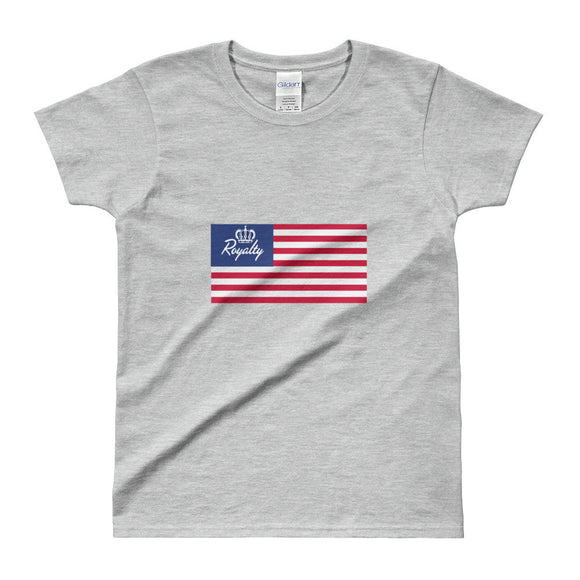 USA Ladies Tee - Royalty Raiments Royalty Raiments