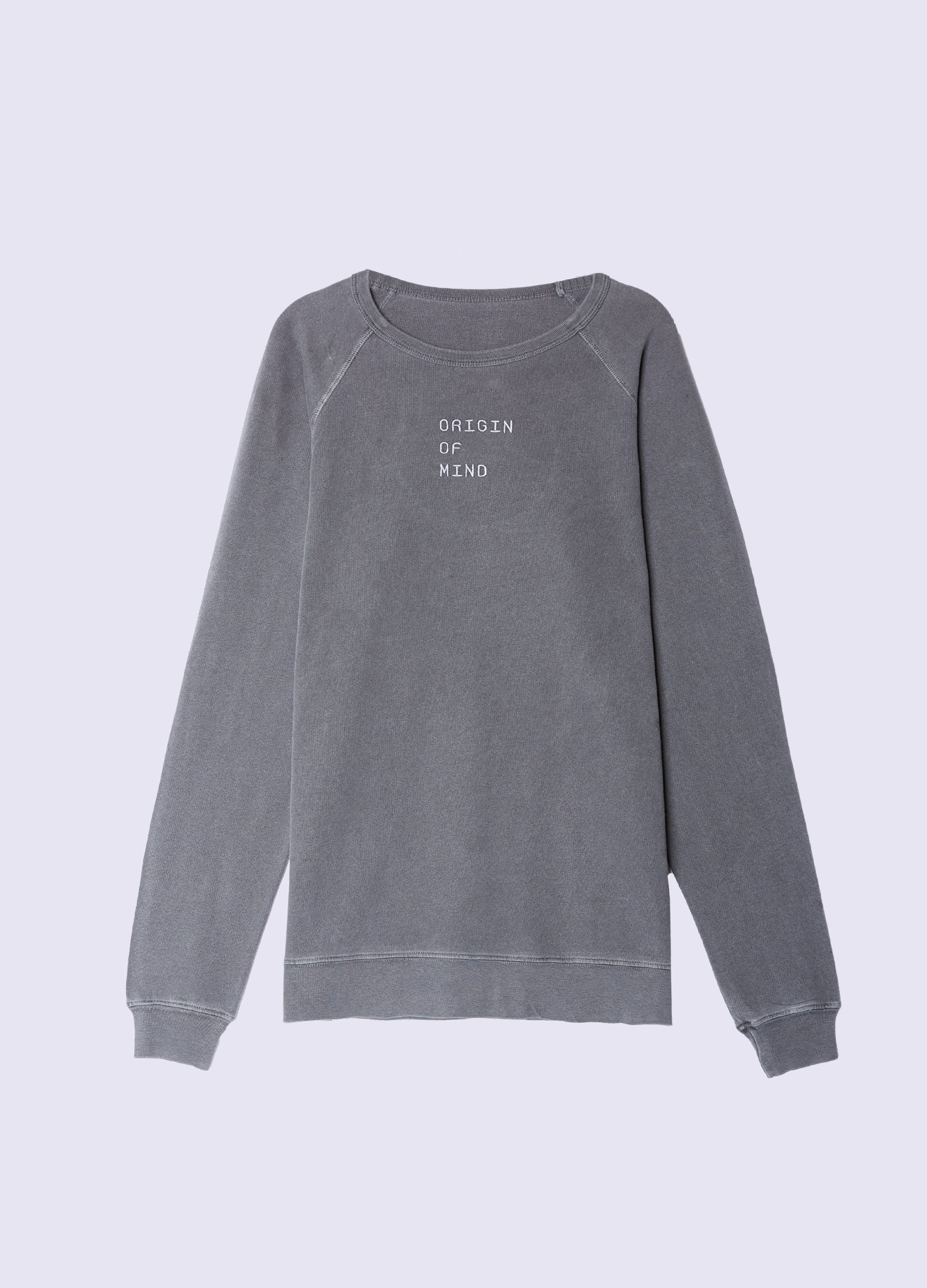 Wordmark French Terry Crewneck