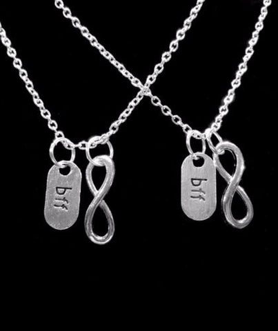 BFF Infinity Best Friends Forever Gift For Best Friend Necklace Set