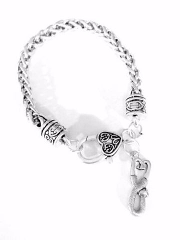 Stethoscope Nurse Pharmacy Medic Medical Mother's Day Gift Charm Bracelet