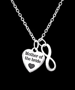 Wedding Gift Mother Of The Bride Thank You For Raising The Woman Necklace