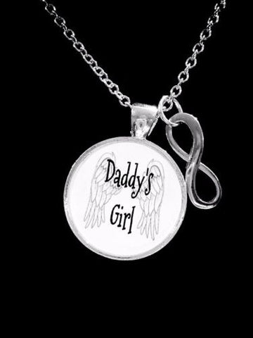 Daddy's Girl Infinity Mother's Day Gift Daughter Niece For Her Necklace