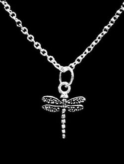 Dragonfly Charm Gift Animal Insect Daughter Gift Necklace