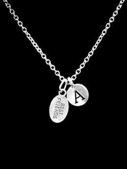 Choose Initial Letter Best Friends Friendship Christmas Gift Necklace