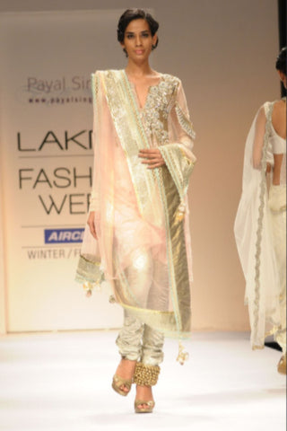 Blush Pakistani Style Suit