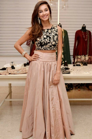 Shibani Crop Top and Skirt
