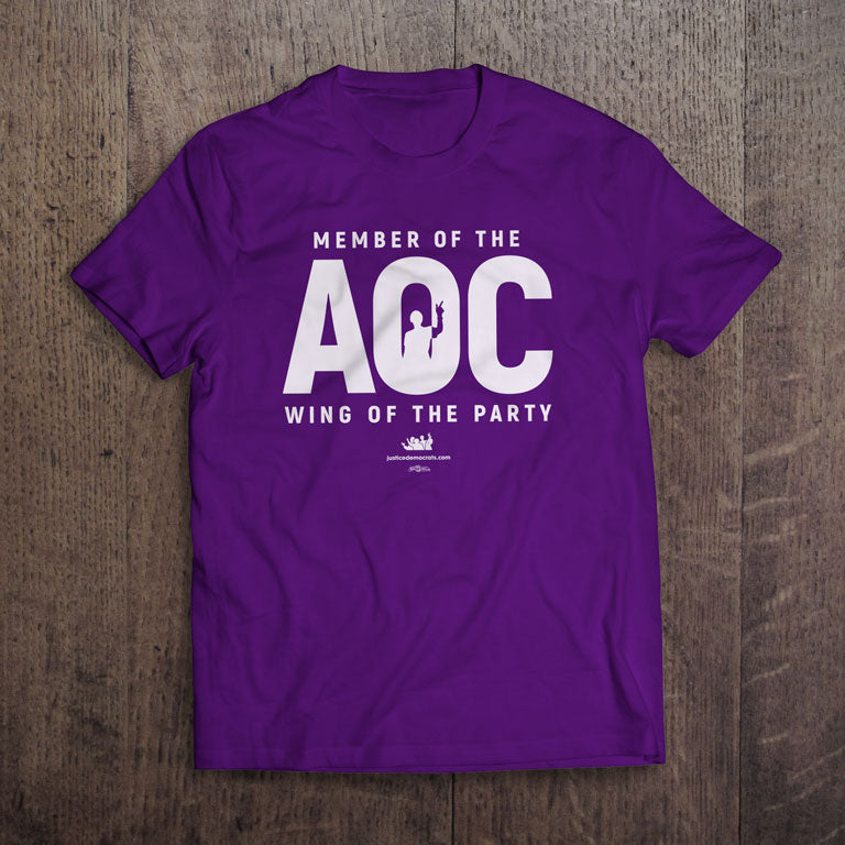 Purple AOC Wing T-Shirts