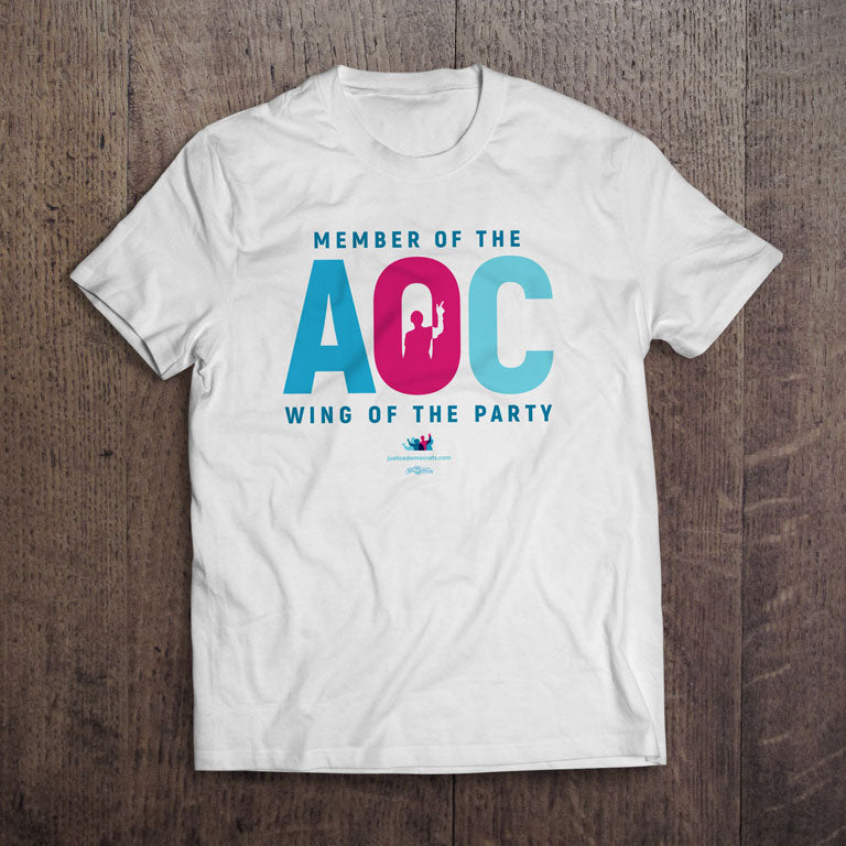 White AOC Wing T-Shirt