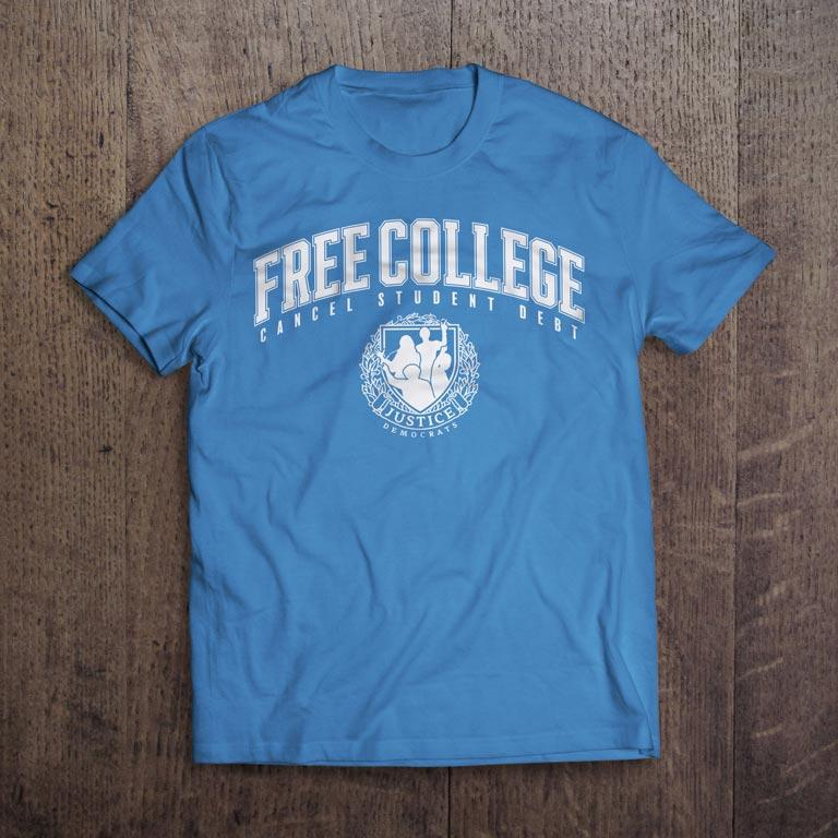 Free College T-Shirt