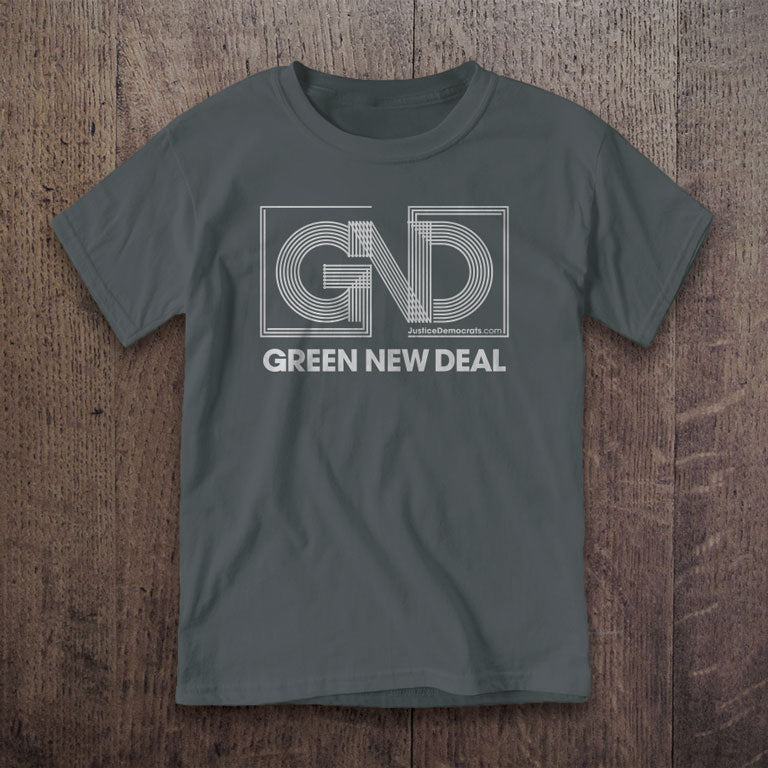 Youth Green New Deal T-Shirt