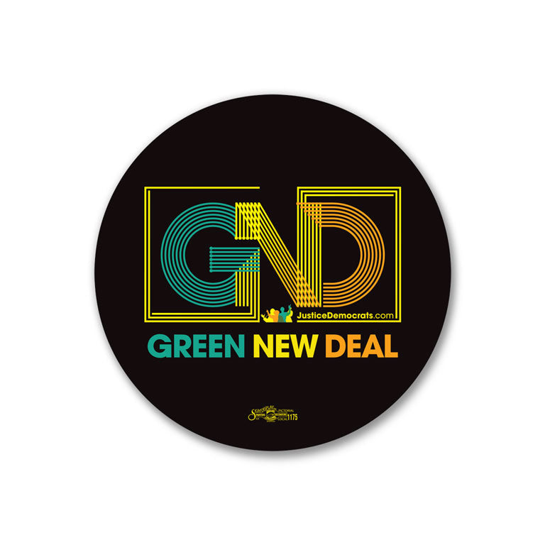 Green New Deal Sticker