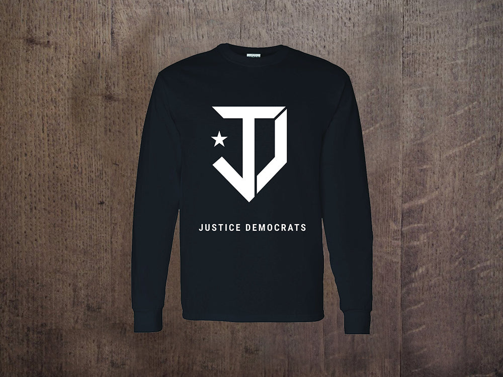 JD Black Long Sleeve Shirt