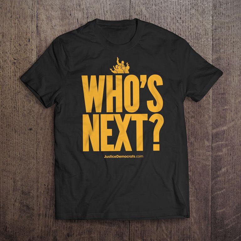 JD Who's Next Black T-Shirt