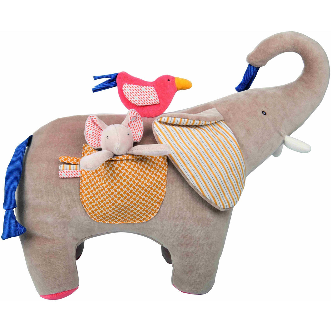 Les Papoum Baby Awakening Activities Elephant - ALittleRaspberry