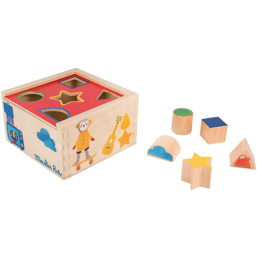 Les Popipop Wooden Shapes Box - ALittleRaspberry