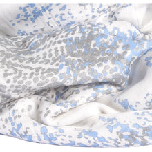 Metallic blue moon birch 3pack silky soft swaddles - ALittleRaspberry