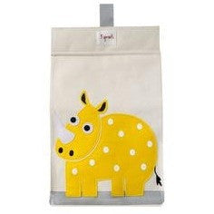 Diaper stacker yellow rhino - ALittleRaspberry