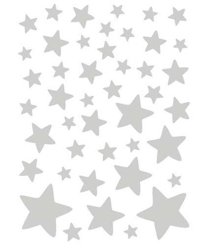 Stars stickers - Silver