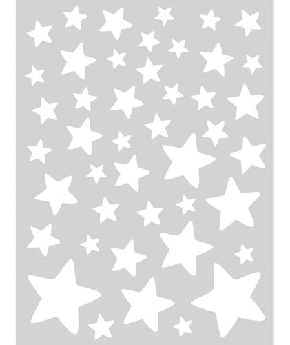 Stars stickers - White