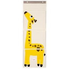 Wall organiser yellow giraffe - ALittleRaspberry