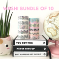 WASHI TAPE BUNDLE of 10