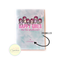 STICKER COLLECTING BOOKLET - HAPPY GIRLS ARE THE PRETTIEST - BLUE