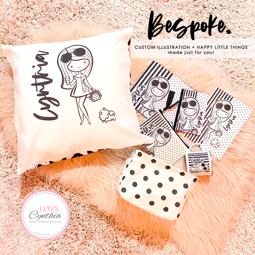 BESPOKE - Custom illustrations + Happy little things made just for you!