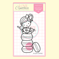 YUMMY MACARONS DIGITAL STAMP