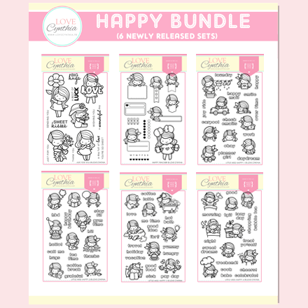 HAPPY BUNDLE - MARCH STAMPS