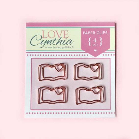 Planner Paper Clip Set - Rose Gold