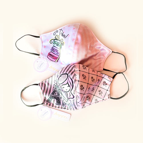 JE T'AIME (pack of 2)  - FACE MASKS