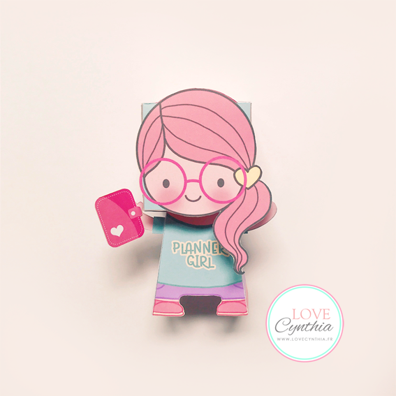 PLANNER GIRL - Paper Happy Doll