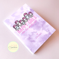 STICKER COLLECTING BOOKLET - HAPPY GIRLS ARE THE PRETTIEST - VIOLET