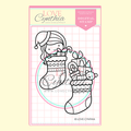 CHRISTMAS DIGITAL STAMP SET 2 - Christmas Stockings