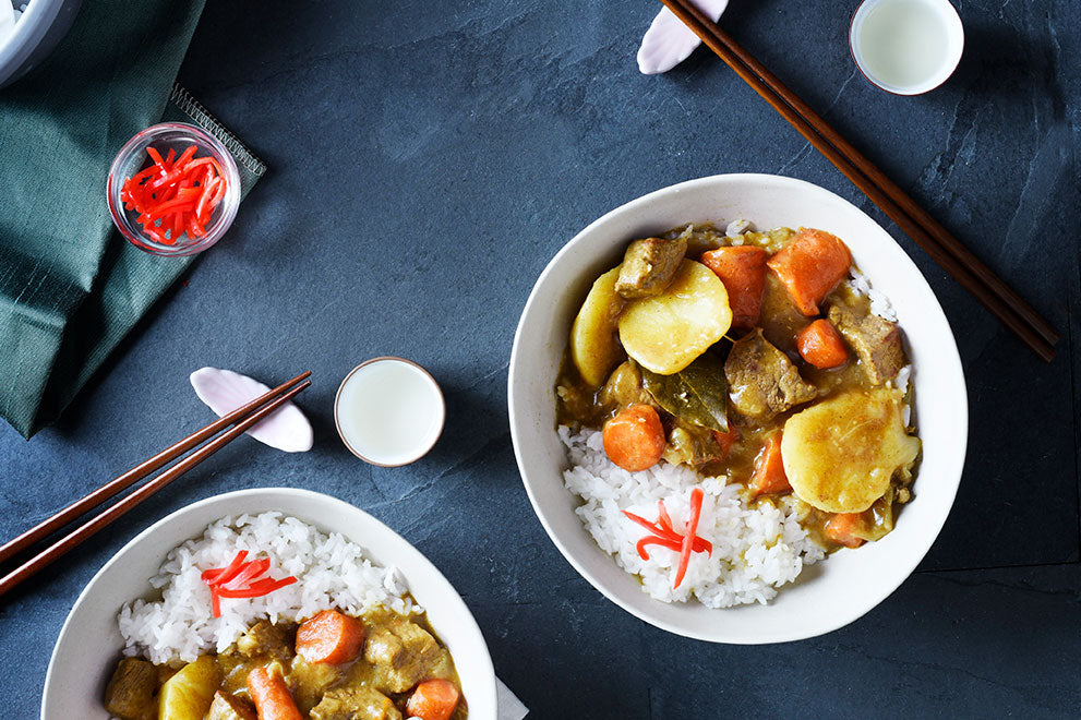 Japanese Beef Curry (Karei Raisu)