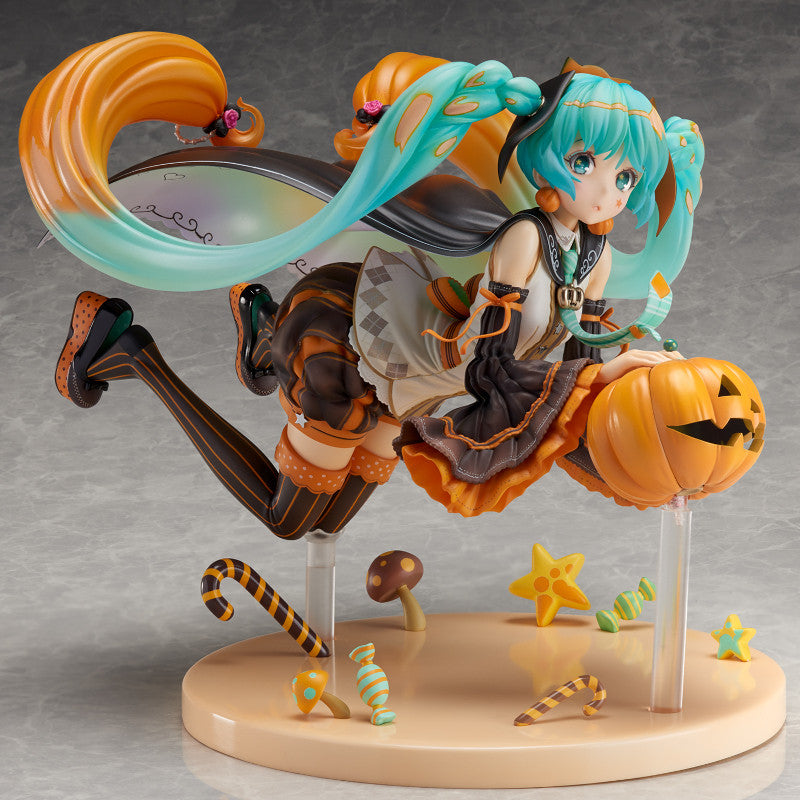 Hatsune Miku TRICK or MIKU illustration by Hidari